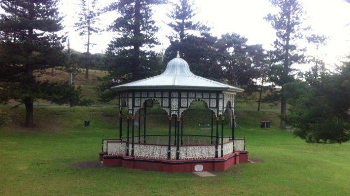 King Edward Park rotunda